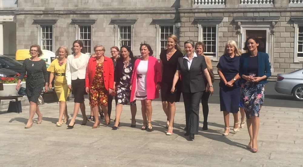 RTE: 'Dublin conference brings together female parliamentarians'